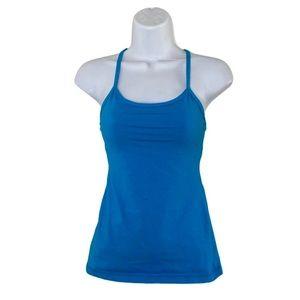 Lululemon blue power y size 4